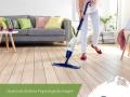 Limpeza do seu piso de madeira